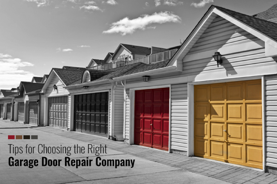 Tips-For-Choosing-The-Right-Garage-Door-Company-in-your-area